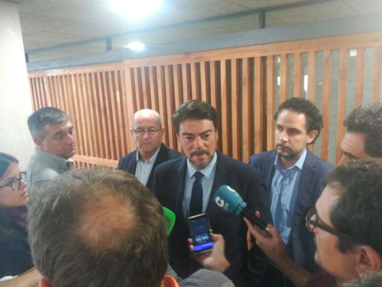 Luis Barcala, alcalde de Alicante