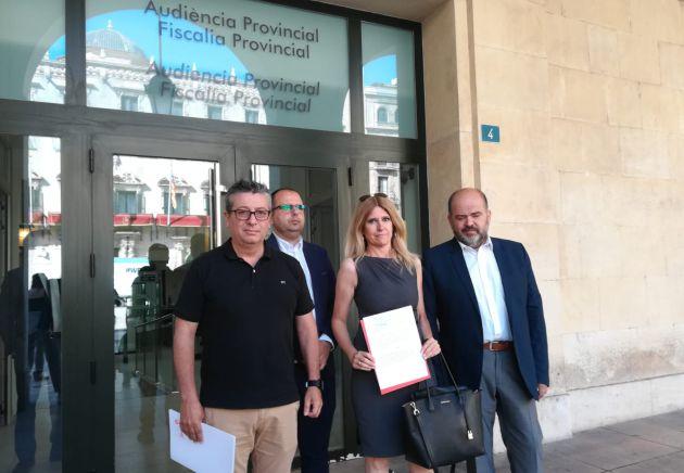 El PSOE en el Ayto de Alicante ante Fiscalía