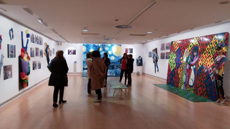 La exposición de ARA muestra el prodeso de creeación en directo que se vivió en la Noche de Ronda