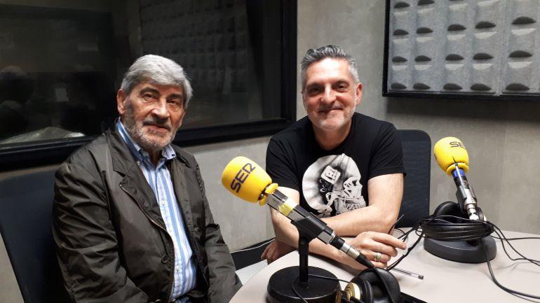 Ernesto Barrutia, a la izquierda, posa junto a Juanma Cano