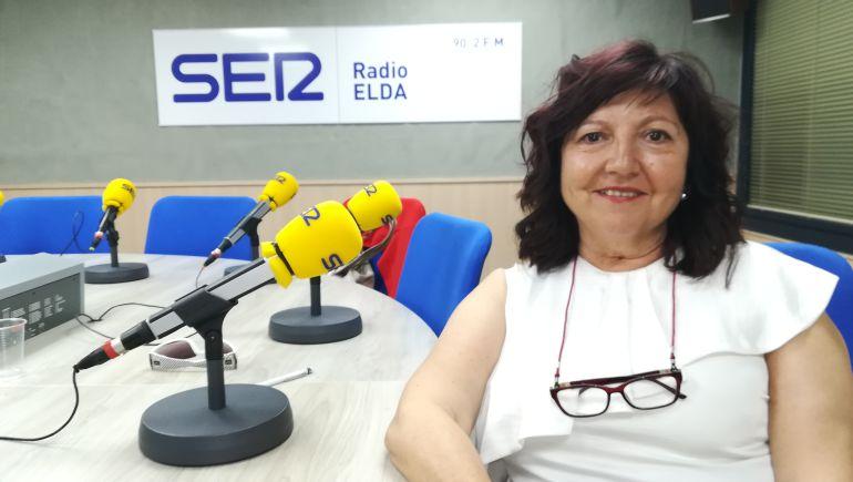 Consuelo Poveda en Vinalopó Hoy por Hoy