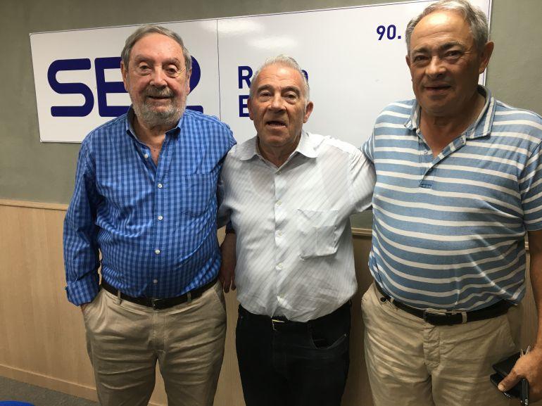Los tertulianos en Radio Elda Cadena SER