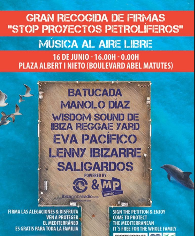 Petróleo: Mar Blava llama a una recogida masiva de alegaciones contra el proyecto MedSalt-2