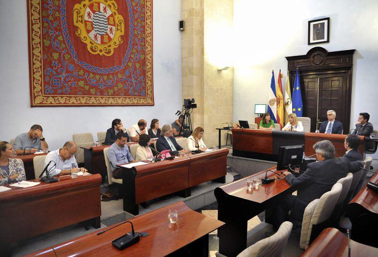 Imagen del pleno sobre el debate del estado de la ciudad