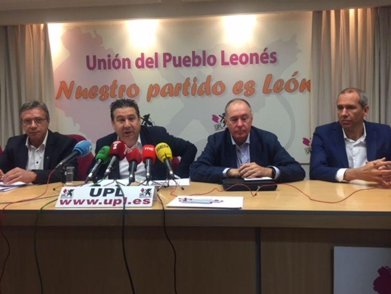 La UPL ha presentado las enmiendas a los PGE