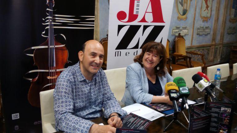 Manuel del Río y Teresa Rebollo presentan la tercera edición de Jazz Medina