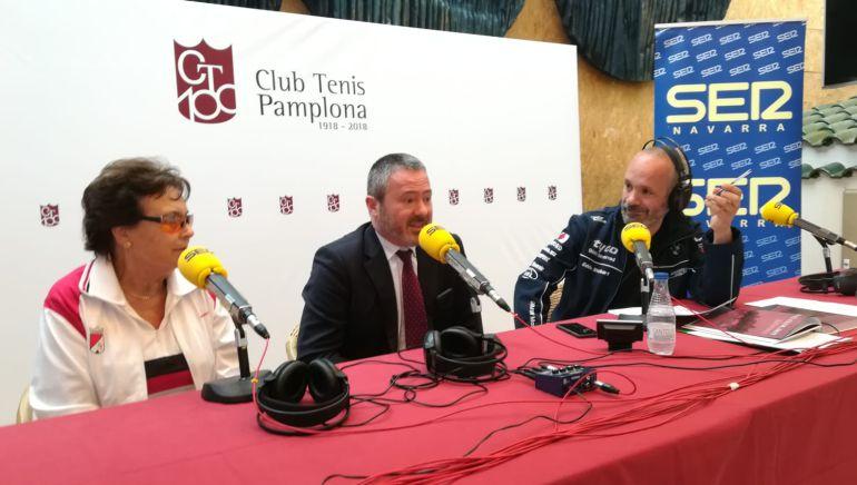 Hoy por Hoy Navarra desde el Club Tenis Pamplona