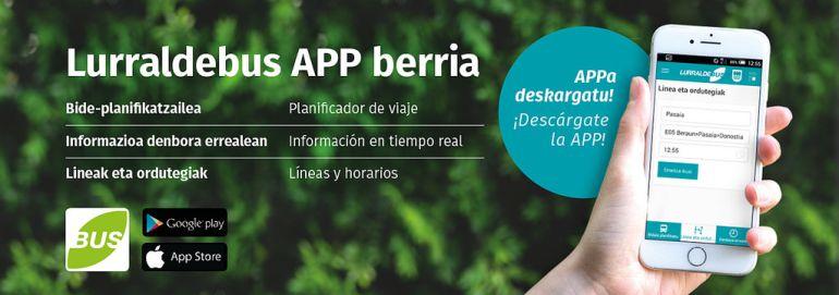 Lurraldebus estrena web y App nueva