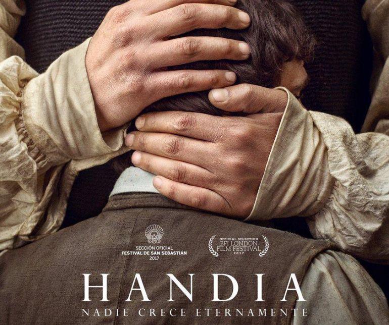 Cartel de la película Handia.
