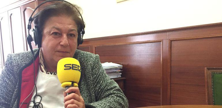 Soledad Martín Nájera, fiscal jefe de Valladolid, durante la entrevista