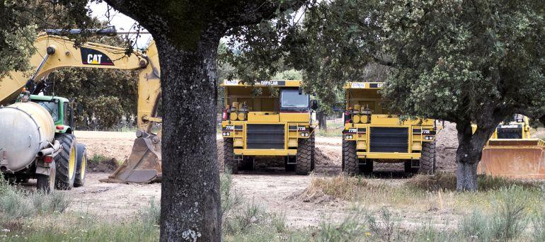 Imagen de la mina de uranio