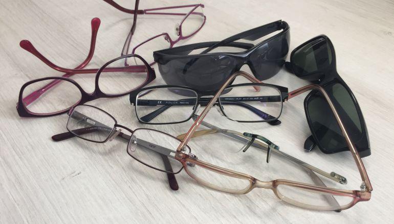Se pueden donar gafas graduadas o de sol.