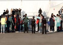 Completado con éxito el rescate de los 630 migrantes del 'Aquarius'