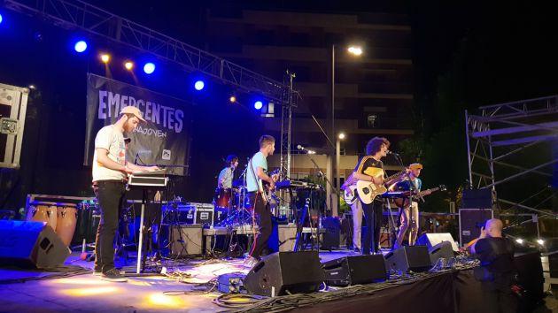 Colectivo Da Silva en concierto en Granada