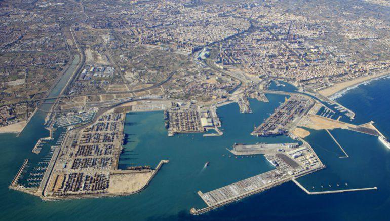 Imagen de archivo del Puerto de Valencia
