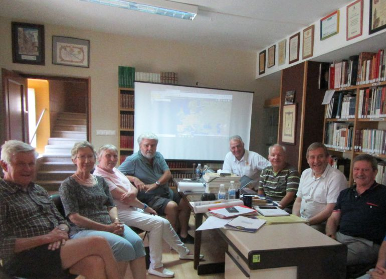 Asistentes a la reunión