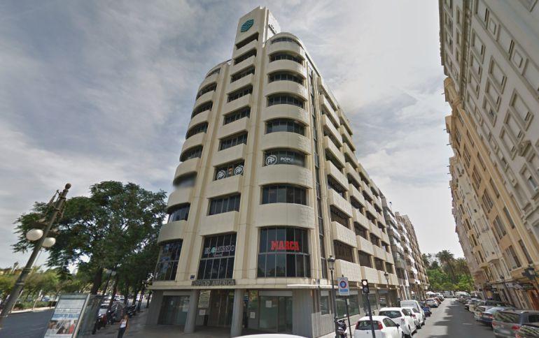 Sede del PP en Valencia