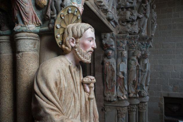 Pórtico de la Gloria Catedral de Santiago
