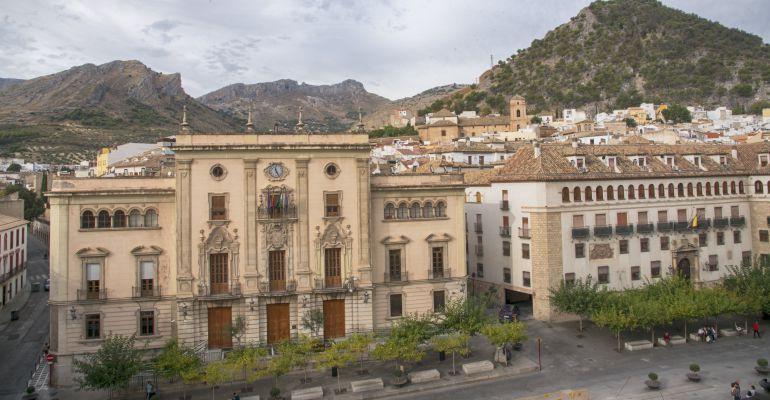 Edificio del Ayuntamiento de Jaén.