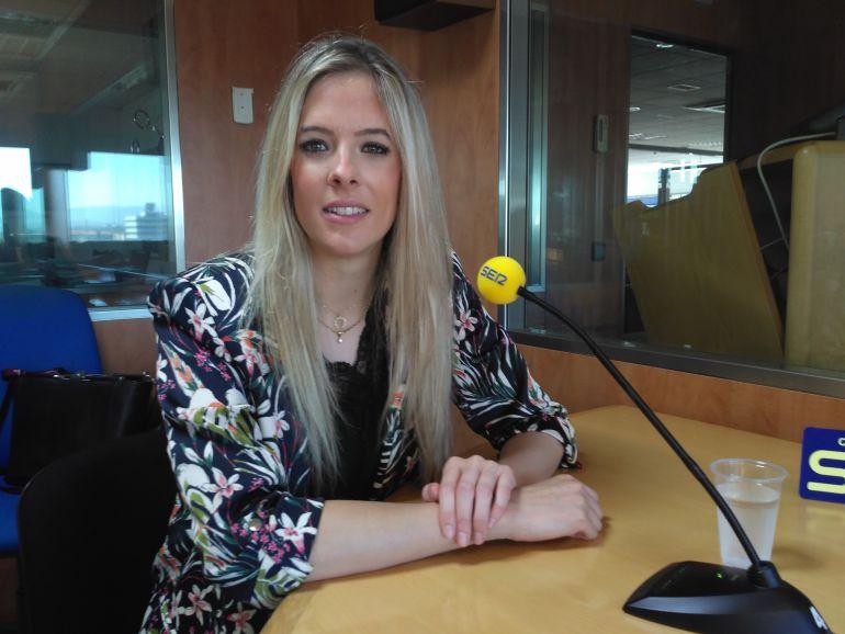 Berta Pérez de Ciriza, directora de exportación y responsable de comunicación y marketing de Bodega Olimpia.