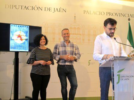 Juan Ángel Pérez durante la presentación