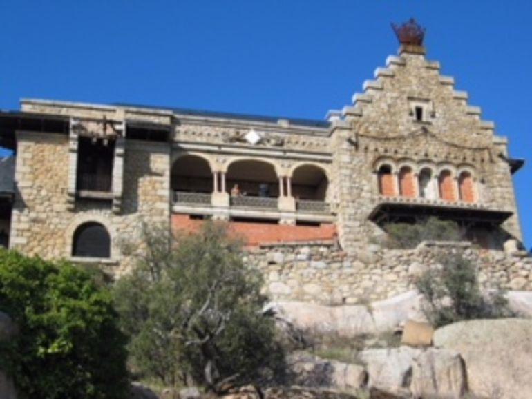 El exterior del Palacio del Canto del Pico, en Torrelodones