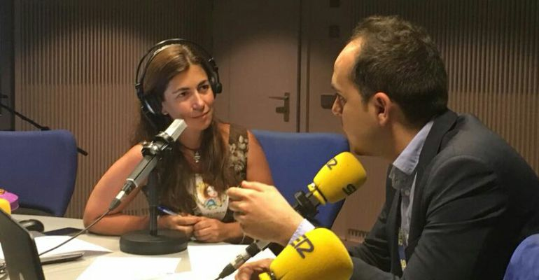 José Manuel Calvo durante la entrevista en Hoy por Hoy Madrid con Marta González Novo