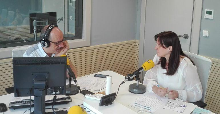 """Aintzane Urkijo alcaldesa Santurtzi: Aintzane Urkijo: """"Las vías del tren no pasarán por el centro del municipio"""""""
