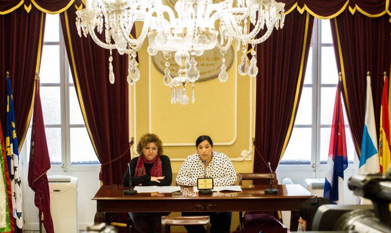 Eva Tubío y Ana Fernández, concejalas de Vivienda y Asuntos Sociales de Cádiz