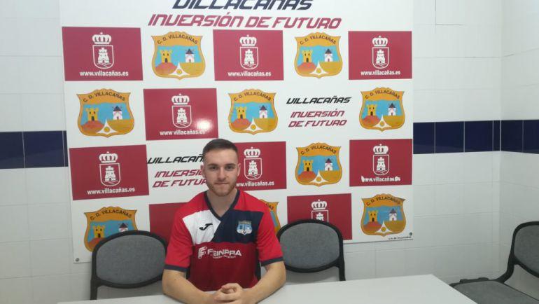 Adrián Carrasco, nuevo jugador del CD Villacañas