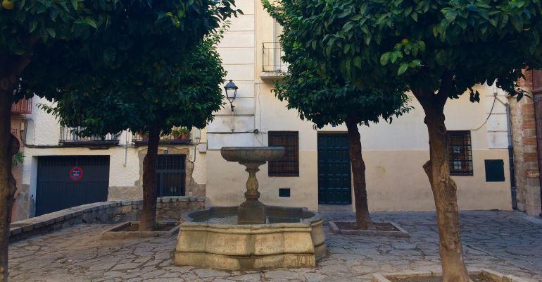 Fuente de San Bartolomé, en Jaén capital.