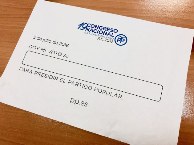 Papeleta de voto