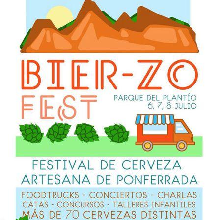 Cartel informativo Bierzo Fest