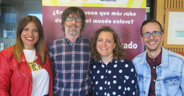 Miriam Ballesteros, Pichili, Amanda Real y Fran Rueda