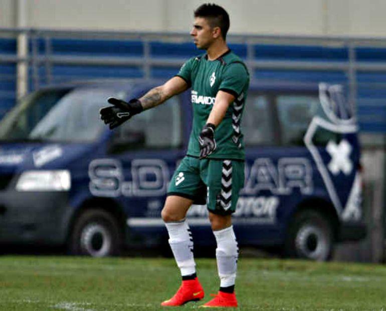 Xavi Irureta compartirá portería con Palatsi