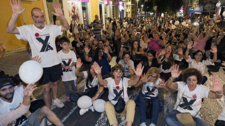 300 días de protestas en las vías
