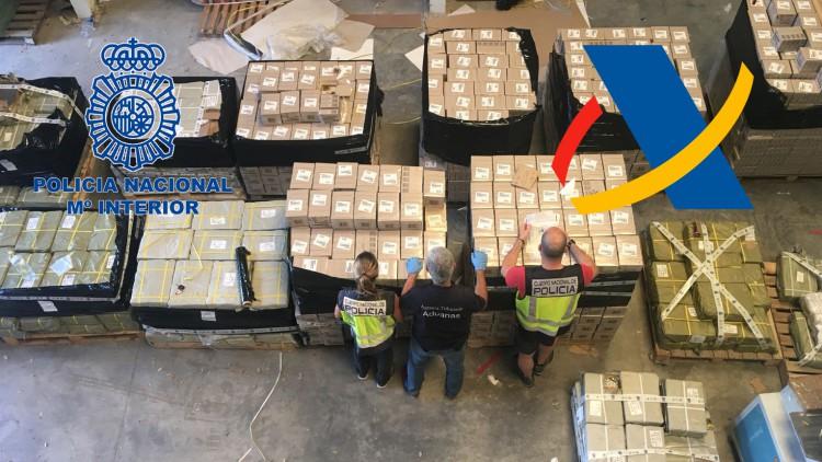 Cinco detenidos y 80.000 pilas falsas incautadas en Valladolid y Badajoz