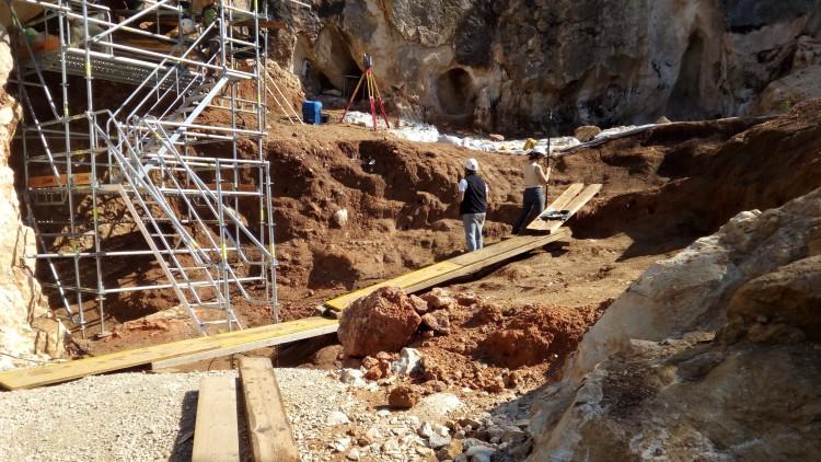 Un robo en Atapuerca paraliza las excavaciones durante unas horas