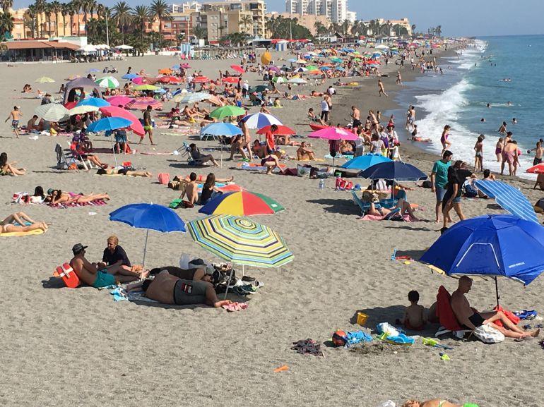 Las playas son el primer destino en verano en la provincia