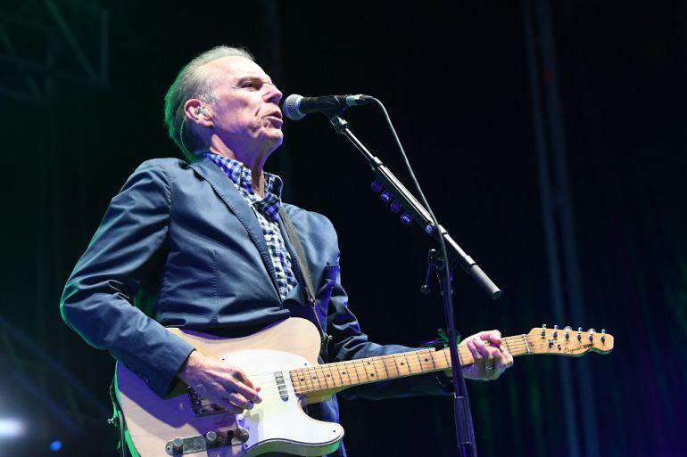 John Hiatt and The Goners durante su actuación en el Huercasa Country Festival