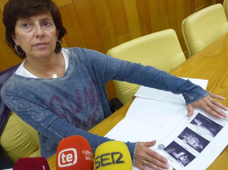 Pilar Calpena, concejala de Urbanismo y Medio Ambiente de Elda
