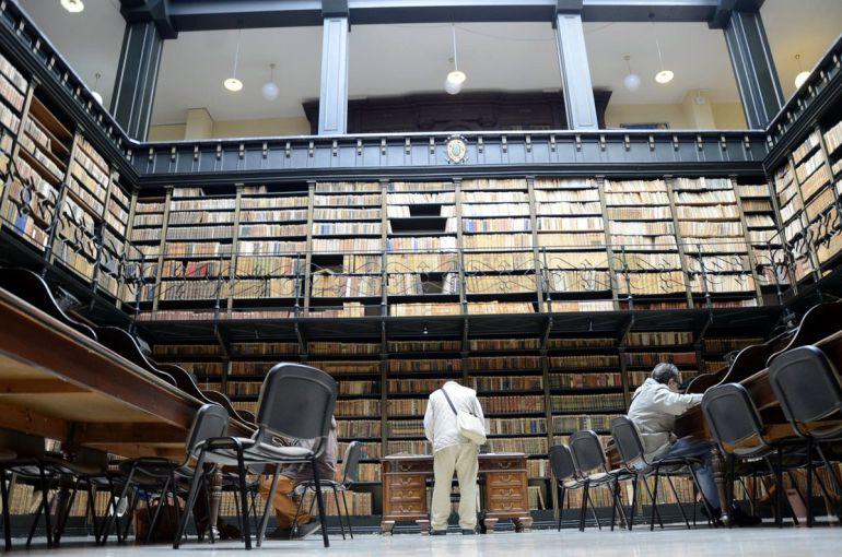La biblioteca central de Jerez se encuentra en la Alameda del Banco