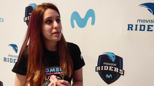 Laura Arias, Aryenzz, es la única jugadora española de Zombie Unicorns