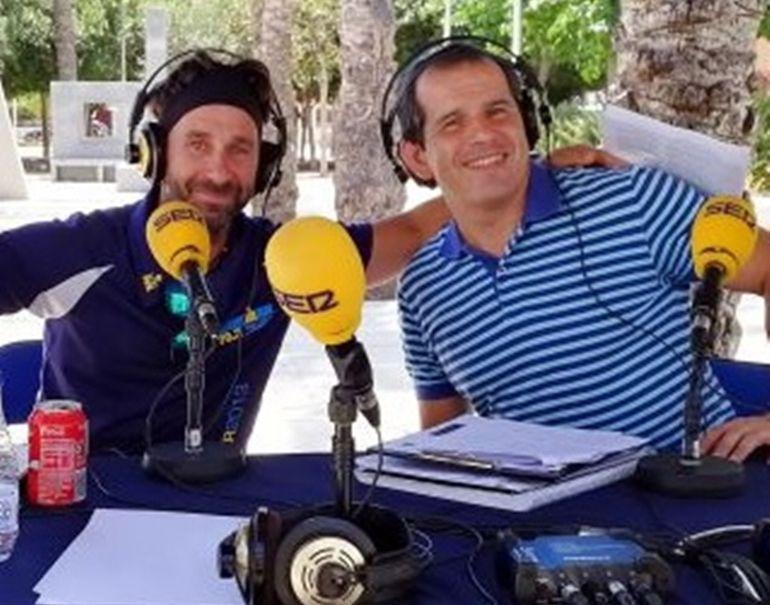 """Miguel Angel López """"Big Mike"""" en uno de los programas de Alicante Corre"""