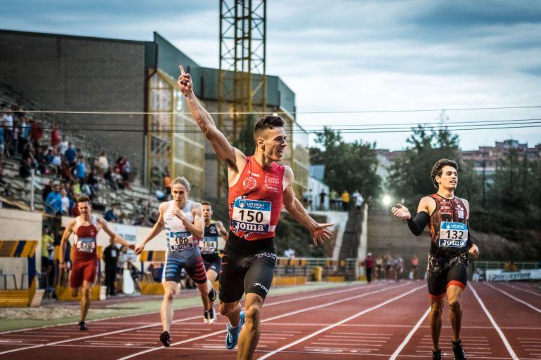 El atleta villarrobledense Manuel Guijarro es de nuevo Campeón de España Sub 23