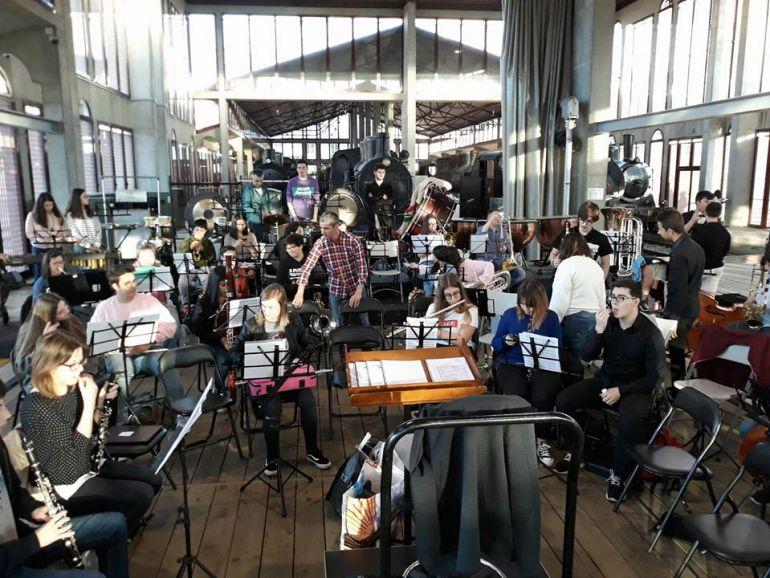 La Banda de Ponferrada compite por primera vez en un certamen internacional