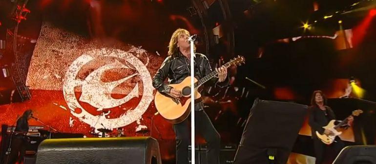 Europe actúa en el Festival de la Guitarra