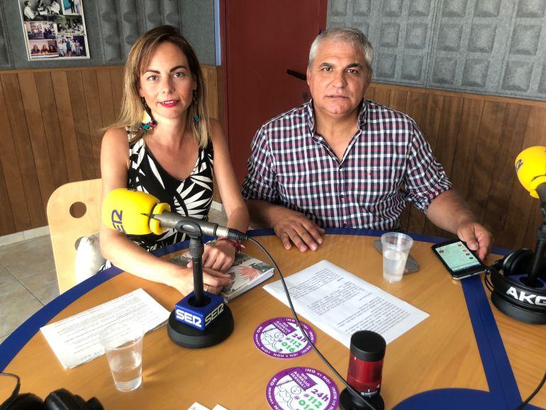 Lydia Jurado Y Alejandro Cardell en Hoy por Hoy