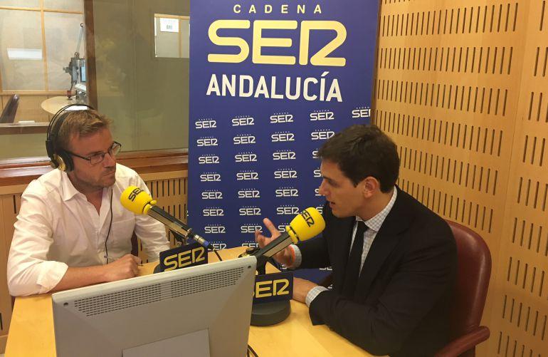 """Rivera: """"Los andaluces no se merecen un adelanto electoral"""""""