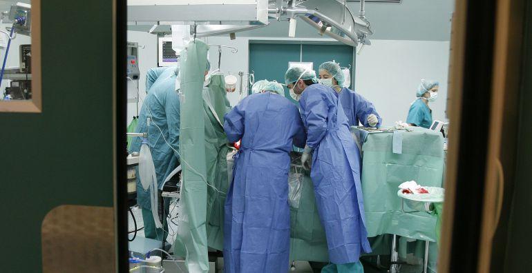 Imagen de una operación quirúrgica